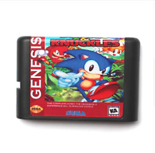 Sonic And Knuckles 3 for 16 bit Sega MD game Cartridge Megadrive Genesis system