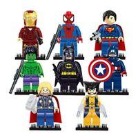 8pc/lot Marvel Super Heroes Avengers Infinity War Mini Figures Lego ''