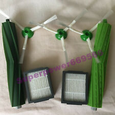 main 3 arm side brush HEPA filter REPLACEMENT for irobot roomba E5 E6 i7 cleaner
