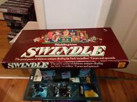 Vintage Retro Waddingtons Swindle Board Game Complete 3-6 Players FREEPOST XMAS