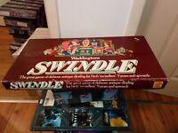 Vintage Retro Waddingtons Swindle Board Game Complete 3-6 Players FREEPOST XMAS