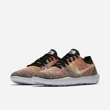 NIKE FREE FOCUS FLYKNIT 2 RUNNING SHOES Womens Black Pink Size 11 Athletic