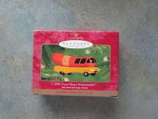 Hallmark Oscar Mayer Wienermobile Ornament 2000 - Free Shipping