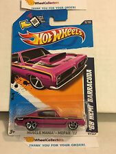 '68 HEMI Barracuda #87 * Purple Kmart * 2012 Hot Wheels * D25