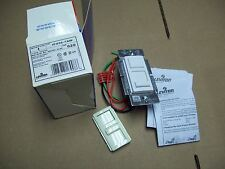 Leviton 600VA-277VAC Fluorescent SLIDE Dimmer Switch Mark 10, IPX06-7AW WHITE