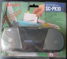 Aiwa SC-PK10 Funda con altavoces incorporados para Walkmans Aiwa  conexión 3.5mm