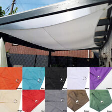 Outdoor Patio Shade Sails Suncreen Awning Garden Sun Canopy Waterproof Solid