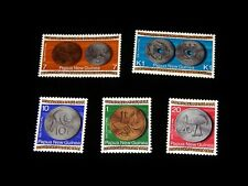 Vintage Stamp,LOT OF 5 PAPUA NEW GUINEA,1975,Issue New Independence Currency,MNH