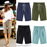Fashion Women Ladies Comfy Loose Shorts Trousers Cropped Pants Summer Beach New