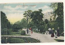 Vintage Postcard (1908?) - Valley Gardens Harrogate (G.D. & D.) - Posted 2020
