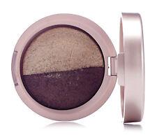 Laura Geller Baked EYE SHADOW DUO Gold/Bronze Eyeshadow ALMOND/CHOCOLATE 1.8g