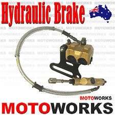 12mm Hydraulic A Rear Disc Brake Caliper System +Pad 50c 125cc PIT PRO Dirt Bike