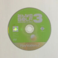 USED PS2 Game Disc Only Minna no Golf 3 JAPAN Sony PlayStation 2 Everybody's