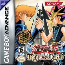 Yu-Gi-Oh: Sacred Card GBA New Game Boy Advance