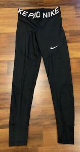 NEW Nike Pro Women's Tight Tights Compression CJ5945-010 Black Medium M