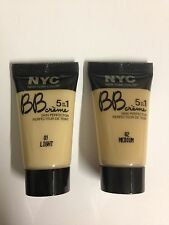 NYC Mini BB Crème 5 in 1 Skin Perfecter * Choose Your Shade * ( 4 Pack )