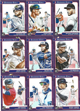 2021 DONRUSS SINGLES W/RC'S & VARIATIONS ***YOU PICK*** #1 - 130