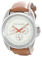 Ted Baker Men's Vintage Analog Display Japanese Quartz Brown Watch 10025261