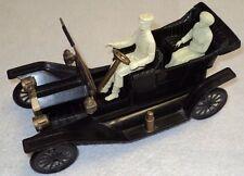 MARX ? IDEAL ? OLD PLASTIC CAR CREAM COLOR DRIVER PASSENGER LANTERNS RARE 60'S