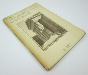 Vermonts State House by Mary Greene Nye Copyright 1936 EX LIBRARY - DAMAGED