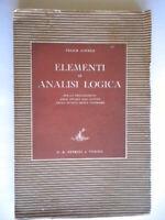 Elementi di analisi logica Lovera studio latino scuola media lingua grammatica