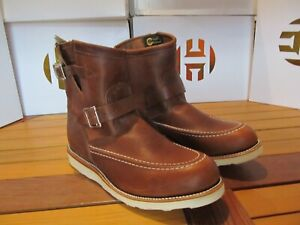 "Chippewa Original Elsmere 7"" Tan Renegade Wedge Boot 10.5E 1901M08 Highlander"