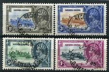 1935 Silver Jubilee Sierra Leone Used Set