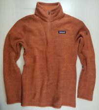 Women PATAGONIA Better Sweater 1/4 Zip Fleece Pullover 25618 LARGE CENTURY PINK