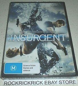 INSURGENT DVD REGION 4 (BRAND NEW SEALED)