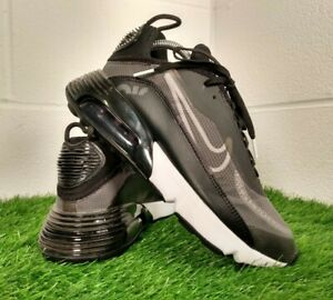 Nike Air Max 2090 Men's Unisex Black Sport Trainers Size UK 7 EU 41 CW7306-001