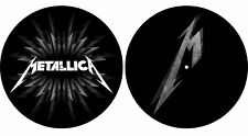 Metallica 'M & Shuriken' Turtable Slipmat Set + NEW & OFFICIAL!
