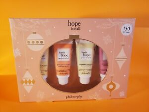 New Philosophy Hope For All Hand And Nail Cream 4 Pc Set