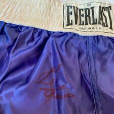 George Foreman Signed Autographed Everlast Boxing Trunks Shorts PSA DNA COA