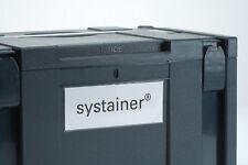 Beschriftungs Set für Systainer Classic SYS TANOS FESTOOL BTI BERNER