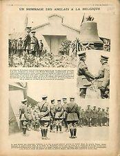 Crête Messine-Wytschete Eglise Cloche Général Plumer GQG Flandres War 1917 WWI