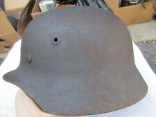 Original Wwii German Helmet M40 W/ Liner & Chin Strap Q64 Vet Bring Back