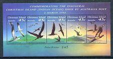 Christmas Island 349f, MNH. Birds: Abbott's booby, Frigate-bird, 1993. x29044