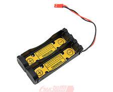 2Pcs Li-ion 3.6V 3.7V 18650 Battery Holder Case w/1S2P PCM Inside Output:3-4.2V