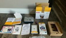 Kodak Easy Share Printer Dock Used with Box, Tray, Paper, Laminating, Catridge