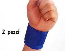 ds Set 2 Pezzi Supporto Per Polso Fascia Elastica Polsiera Tendinite Sport dfh