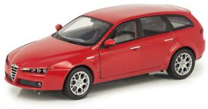 WEL22482W - Voiture break ALFA ROMEO 159 de 2007 de couleur rouge -  -