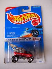 HOT WHEELS 1996 FIRST EDITIONS RADIO FLYER WAGON