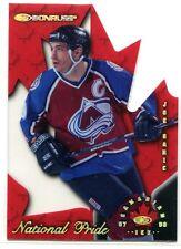 1997-98 Donruss Canadian Ice National Pride 17 Joe Sakic 349/1997