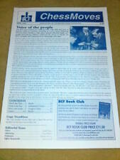 CHESS MOVES NEWSLETTER April 1999