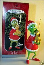 1998 Hallmark DR SEUSS THE GRINCH Ornament Max Reindeer