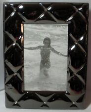 WHITEHILL STUDIO CLEAR BEADS COCO SILVER PLATE FRAME 10CM X 15CM MINT IN BOX