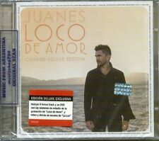 CD + DVD SET JUANES LOCO DE AMOR DELUXE EDITION + 4 BONUS TRACKS SEALED NEW 2014