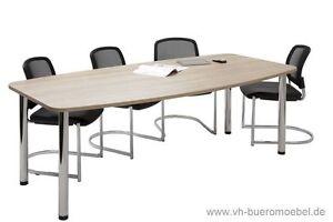 Konferenztisch Tisch 220cm Besprechungstisch Büromöbel Seminartisch Meetingtisch