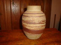 Clay Pottery Vase Handcrafted and Painted