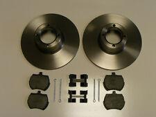Classic Mini 8.4 Brake Disc Kit inc Pads Retainers rover austin cooper mpi spi s
